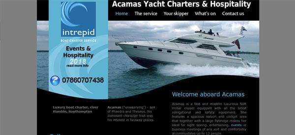 Acamas-website