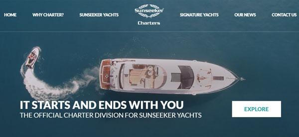 Sunseeker-Charters-Website