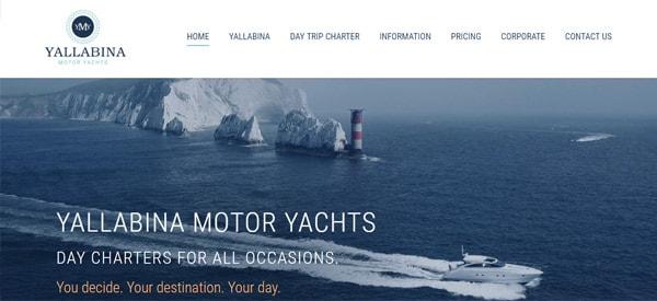 Yallabina_Motor_Yachts_Website