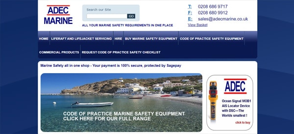 ADEC-Marine-website