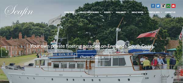 Seafin-website